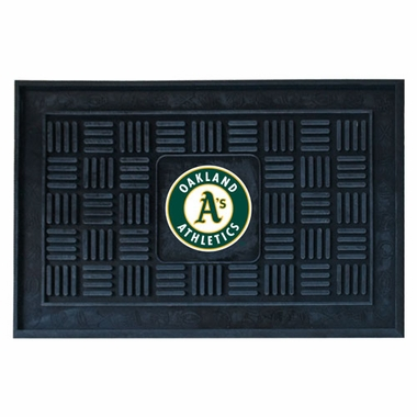 Oakland Athletics Heavy Duty Vinyl Doormat