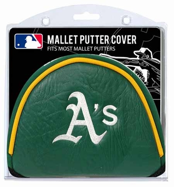 Oakland Athletics Mallet Putter Cover