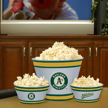 Oakland Athletics Plastic Serving Set