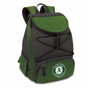Oakland Athletics PTX Backpack Cooler (Green)