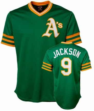 Oakland Athletics Reggie Jackson Replica Throwback Jersey
