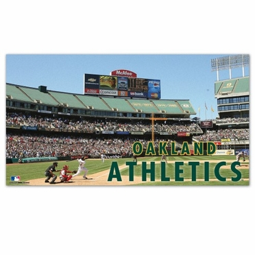 Oakland Athletics Runner Mat