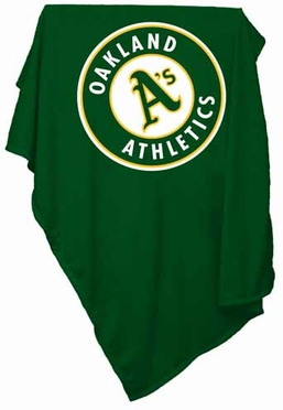 Oakland Athletics Sweatshirt Blanket