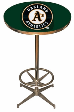 Oakland Athletics Team Pub Table