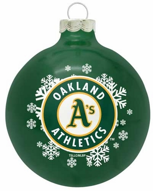 Oakland Athletics Traditional Ornament