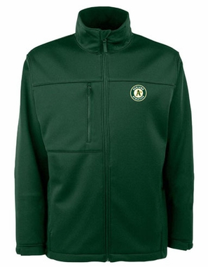 Oakland Athletics Mens Traverse Jacket (Team Color: Green)