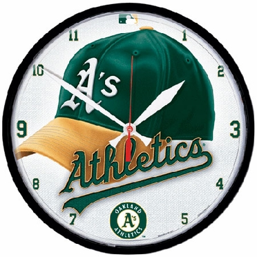 Oakland Athletics Wall Clock