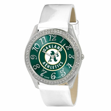 Oakland Athletics Women's Glitz Watch