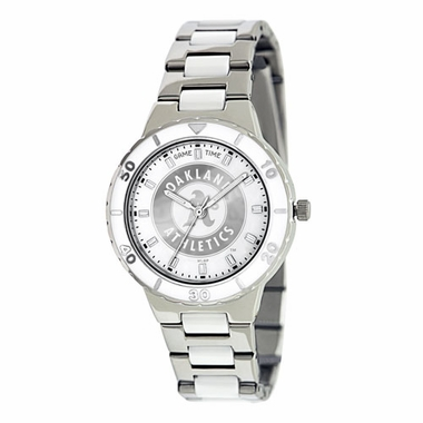 Oakland Athletics Women's Pearl Watch