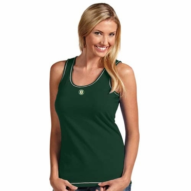 Oakland Athletics Womens Sport Tank Top (Team Color: Green)