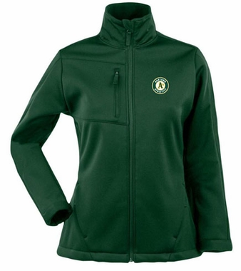 Oakland Athletics Womens Traverse Jacket (Color: Green)