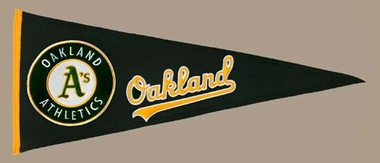 Oakland Athletics Wool Pennant