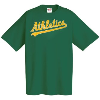 Oakland Athletics Wordmark T-Shirt