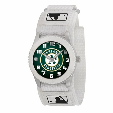 Oakland Athletics Youth Rookie Watch (White)