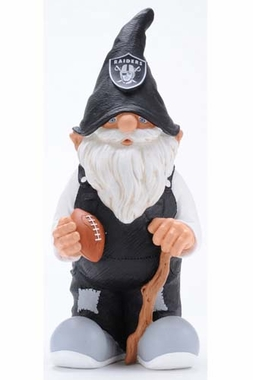 "Oakland Raiders Garden Gnome - 11"" Male"