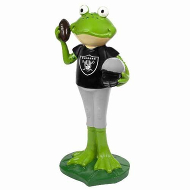 Oakland Raiders 12 Inch Frog Player Figurine
