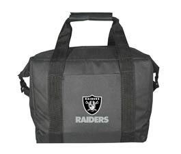 Oakland Raiders 12 Pack Cooler Bag