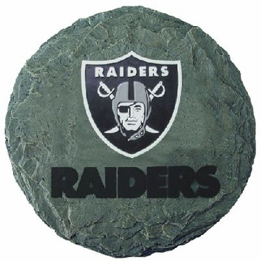 "Oakland Raiders 13.5"" Stepping Stone"