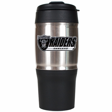 Oakland Raiders Heavy Duty Travel Tumbler