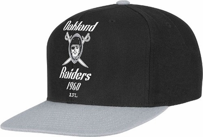 Oakland Raiders 2-Tone Vintage Snap back Hat