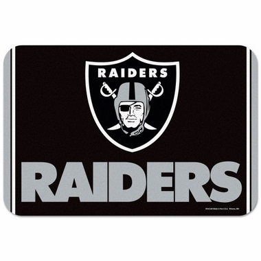 Oakland Raiders 20 x 30 Mat