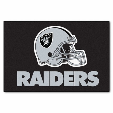 Oakland Raiders 20 x 30 Rug