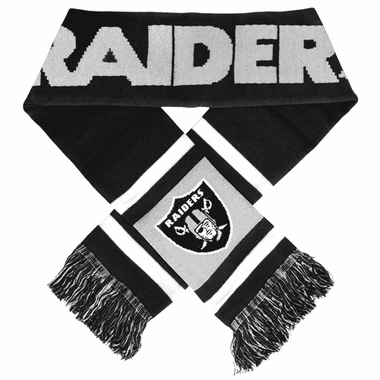 Oakland Raiders 2012 Team Stripe Knit Scarf