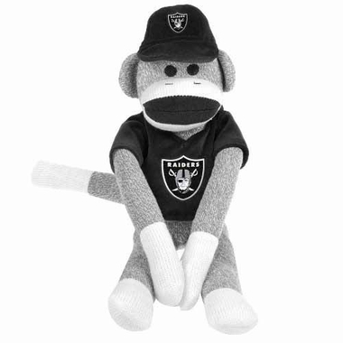 Oakland Raiders 2013 27 Uniform Sock Monkey