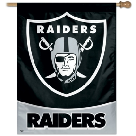 "Oakland Raiders 27"" x 37"" Banner"