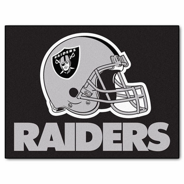 Oakland Raiders 34 x 45 Rug