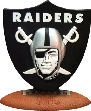 Oakland Raiders 3D Logo