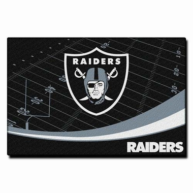 Oakland Raiders 40 x 60 Rug