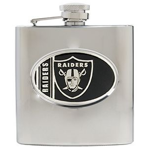 Oakland Raiders 6 oz. Hip Flask