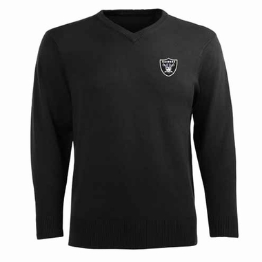 Oakland Raiders Mens Ambassador Sweater (Team Color: Black)