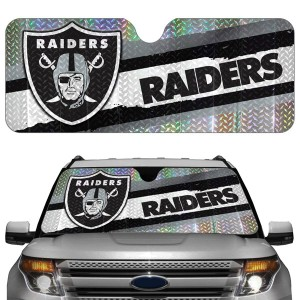 Oakland Raiders Auto Sun Shade