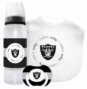 Oakland Raiders Baby Gift Set