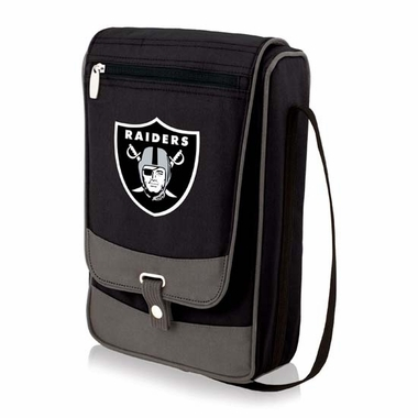 Oakland Raiders Barossa Wine Satchell (Black)