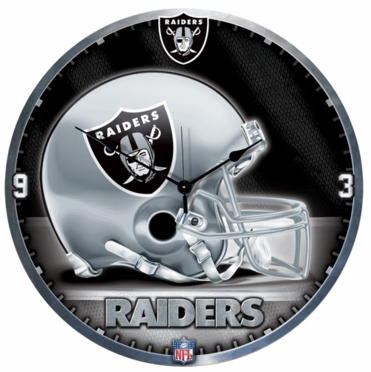Oakland Raiders Big 18 Inch Hi Definition Clock