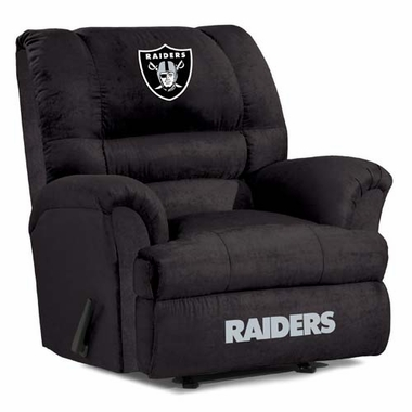 Oakland Raiders Big Daddy Recliner