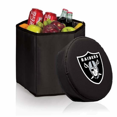 Oakland Raiders  Bongo Cooler / Seat (Black)