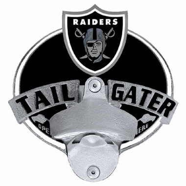 Oakland Raiders Bottle Opener Hitch Cover