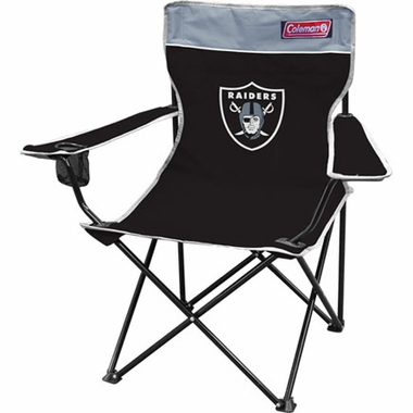 Oakland Raiders Broadband Quad Tailgate Chair