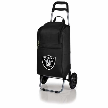 Oakland Raiders  Cart Cooler (Black)