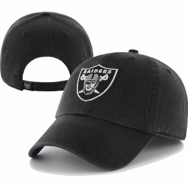 Oakland Raiders Cleanup Adjustable Hat