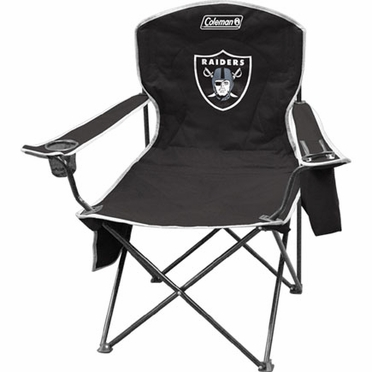 Oakland Raiders Cooler Quad Tailgate Chair