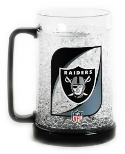 Oakland Raiders Crystal Freezer Mug