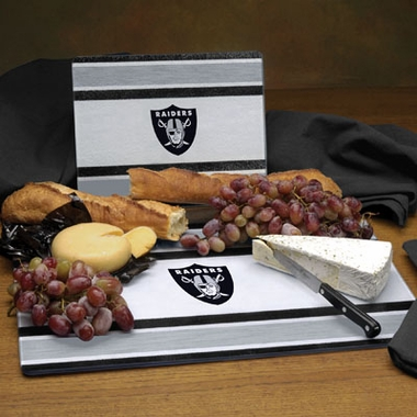 Oakland Raiders Cutting Board Set