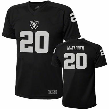 Oakland Raiders Darren McFadden Youth Performance T-shirt