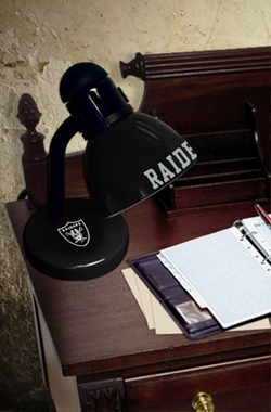 Oakland Raiders Dorm Lamp