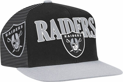Oakland Raiders Double Graphic Laser Stitched Snap Back Hat